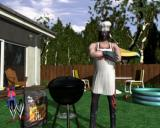 WWE Crush Hour PlayStation 2 From the animated introduction<br>The head of WWE has become so powerful that he now controls all TV channels so all shows feature WWE stars. Here's one advertising a barbeque