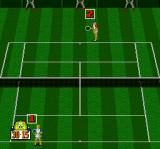 "Power Tennis TurboGrafx-16 Grass court, ""score"" has been set to on in the settings"
