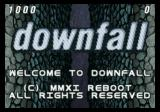 Downfall Jaguar Title screen