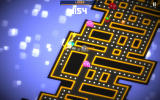 Pac-Man 256 Android Almost cornered, but shooting a laser.
