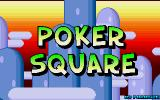 Poker Square Atari ST Title screen
