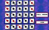 Poker Square Atari ST After placing all cards, each row, column and diagonals are added up naming the best hand there