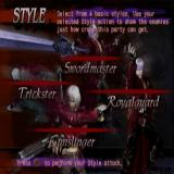 Devil May Cry 3: Dante's Awakening PlayStation 2 The game can be played with 'Tutorial Mode' enabled<br>This means that after the first cut scene the player is treated to several screens like this with more to follow during the game