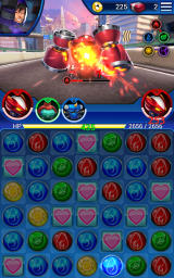 Big Hero 6: Bot Fight Android A match has powered my ally's attack.