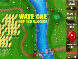 Bloons Super Monkey Browser Start of the game