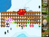 Bloons Super Monkey Browser Stage 3 wave 3: balloons that need a lot of shots in order to pop them.