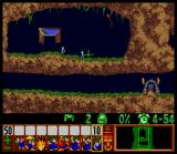 Lemmings SNES Lemmings Popping out