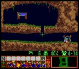 Lemmings SNES Exit the level