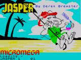 Jasper! ZX Spectrum Title screen
