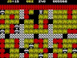 Boulder Dash II: Rockford's Revenge ZX Spectrum Room L/1. End of the game is not yet near.