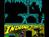Indiana Jones and the Last Crusade: The Action Game ZX Spectrum Against a man with a gun.