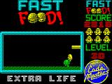 Fast Food ZX Spectrum This animation sees Dizzy jump on the enemy.