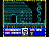 Batman: The Movie ZX Spectrum On the roof of the cathedral.