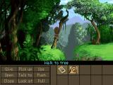Indiana Jones and the Fate of Atlantis Windows Crossing the ravine (GOG version)