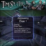 TimeSplitters 2 PlayStation 2 Whenever the player completes a mission and returns to the main menu the game auto saves progress