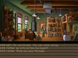 Indiana Jones and the Fate of Atlantis Windows Key decision in the game where you select how you wish to set off on an adventure to find Atlantis (GOG version)