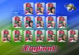 WCR: World Championship Rugby PlayStation 2 Setting up a friendly match<br>Having selected the teams the player's pictures are displayed. There are no names, no option to change the line-up or to select team tactics