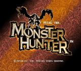Monster Hunter PlayStation 2 Title screen <br>Trial version