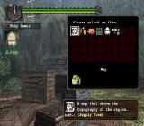 Monster Hunter PlayStation 2 The game helpfully gives us a chest with useful items. The player uses the D-Pad to select the items from the grid and transfer them to the inventory<br>Trial version