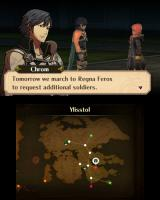 Fire Emblem: Awakening Nintendo 3DS Both 3D models and character portraits are utilized in the cutscenes.