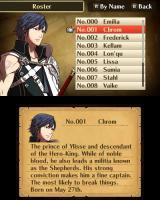 Fire Emblem: Awakening Nintendo 3DS Each playable character has a short bio.