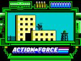 Action Force ZX Spectrum picking someone taking a shower