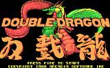 Double Dragon DOS Title screen