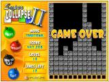 Super Collapse! II Windows Game Over