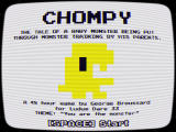 Chompy Browser Title screen