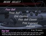Real Pool PlayStation 2 There are five game options in the Carom game mode together with a practice mode