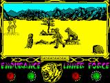The Way of the Tiger ZX Spectrum ...zwhatt? Dung becoming alive?
