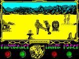 The Way of the Tiger ZX Spectrum ... your name is REX, you were born the 1st of a mutant ecological dinosaur dinasty...