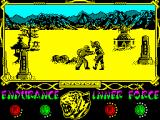 The Way of the Tiger ZX Spectrum you are a ecological Hero with a mission to rid off Humanity from nuclear power... you're a good person and....