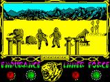 The Way of the Tiger ZX Spectrum Separated from birth cradle , the twin ninja finally find each other with a heartbreaking joy, only to understand immediately after... One of them is bein manipulated by the infamous Coprolitus!!!