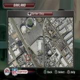 Madden NFL 06 PlayStation 2 The Superstar game mode<br>The map in the apartment  gives the player access to their barbers, tattoo parlour, training facilities etc