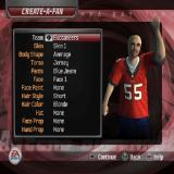 Madden NFL 06 PlayStation 2 Not only can players be created, fans can be created too
