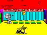 Kung-Fu: The Way of the Exploding Fist ZX Spectrum forward sweep (1 + X) / rotating kick (space + K)