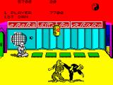 Kung-Fu: The Way of the Exploding Fist ZX Spectrum havin' an epiphany / back kick (1 + Q)