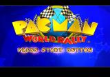 Pac-Man World Rally PlayStation 2 Title screen.