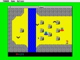 Fanwor: The Legend of Gemda Atari ST I cannot cross the river at this screen as it seems