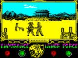 The Way of the Tiger ZX Spectrum Even badly hurt, the reborn brother felt ashamed for what he'd done in the past and felt responsible for directly confronting the nefarious Coprolitus himself.