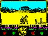 The Way of the Tiger ZX Spectrum Avenger's pain weakened him remembering still with dry tears the recent loss of his brother.