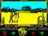 The Way of the Tiger ZX Spectrum - Avenger... I was... that little boy that you used to scare in the attic dressing as... (sigh)... (sound of leafs flying)