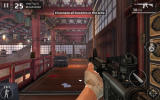 Modern Combat 5: Blackout Windows Apps A game in the assault mode set inside a temple.