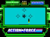 Action Force ZX Spectrum Predator practice.