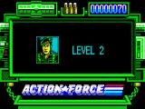 Action Force ZX Spectrum Beginning level 2