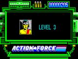 Action Force ZX Spectrum Beginning level 3