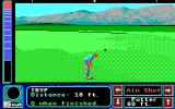 Jack Nicklaus' Greatest 18 Holes of Major Championship Golf Apple IIgs Practicing putting