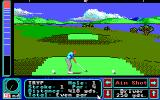 Jack Nicklaus' Greatest 18 Holes of Major Championship Golf Apple IIgs First stroke