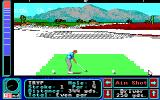 Jack Nicklaus' Greatest 18 Holes of Major Championship Golf Apple IIgs Not much vegetation here
